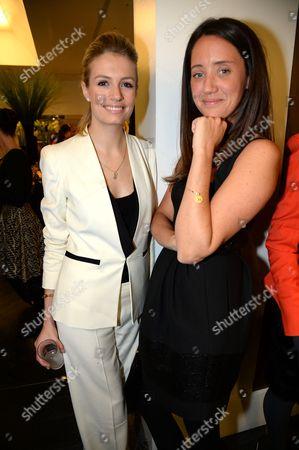 Sofia Wellesley and India Langton