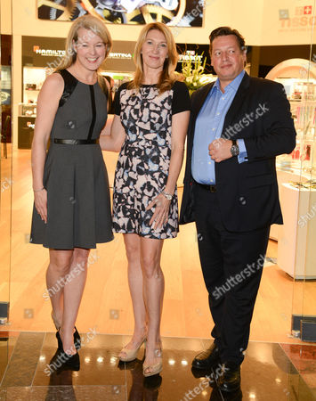 Jennifer Judkins, Steffi Graf and Gael Vallade