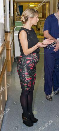 Stock Photo of Melanie Slade touring the Children's Intensive Care Unit