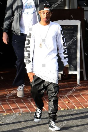 Editorial picture of Lil Twist leaving Fred Seagal in West Hollywood, Los Angeles, America - 31 Jan 2014