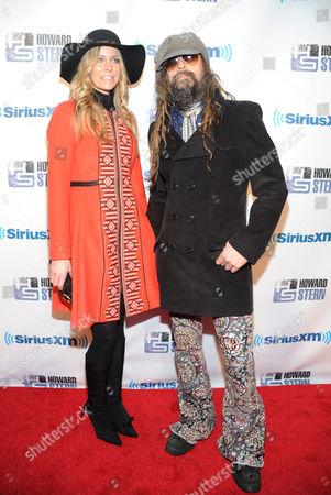 Rob Zombie and wife Sheri Moon Zombie