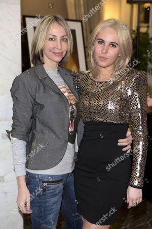 Natalie Appleton and daughter Rachel Howlett