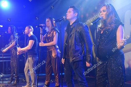 Liberty X - Michelle Heaton, Kevin Simm, Kelli Young, Tony Lundon, Jessica Taylor
