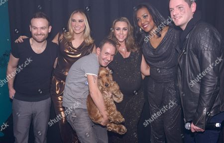 Liberty X - Michelle Heaton, Kevin Simm, Kelli Young, Tony Lundon, Jessica Taylor and Jeremy Joseph