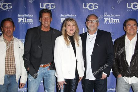 Stock Picture of Kevin Casey, Chris Mesanko, Catherine Brabec, Greg Mesanko and Jim Purpuri