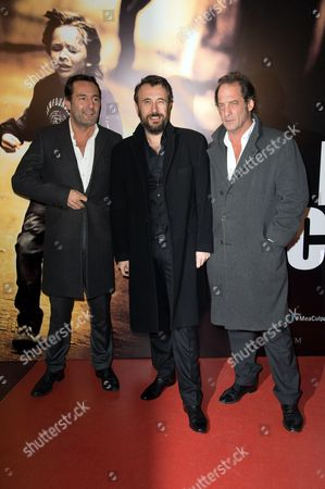 Stock Photo of Vincent Lindon, Fred Cavaye and Gilles Lellouche