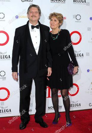 Lynette Singer and Andre Singer