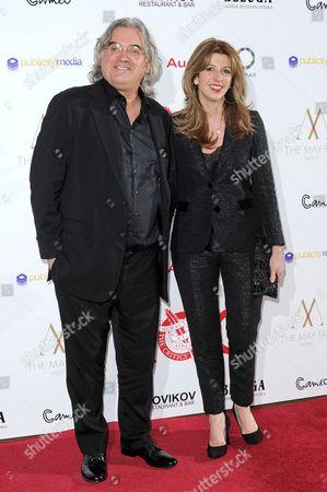 Paul Greengrass and wife Joanna Greengrass