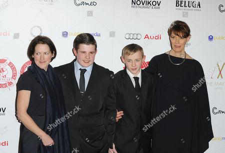 Tracy O'riordan, Shaun Thomas and Conner Chapman, Clio Barnard