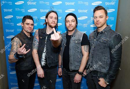 Bullet for my Valentine, Michael Paget, Matthew Tuck, Jason James, Michael Thomas