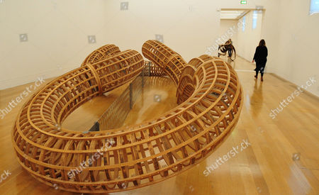 'After', 1998, by Richard Deacon