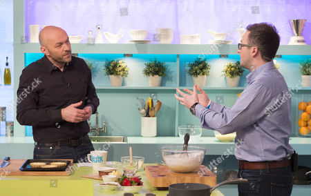 Stock Picture of Simon Rimmer and Will Torrent
