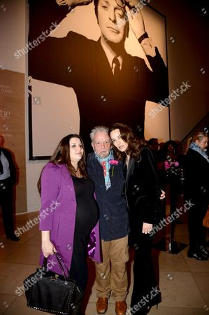 Paloma Bailey, David Bailey and Catherine Bailey
