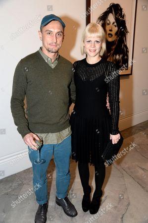 Richard Nicoll and Francesca Burns