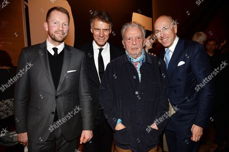 Gerd von Podewils, Claus-Dietrich Lahrs, David Bailey and Dylan Jones