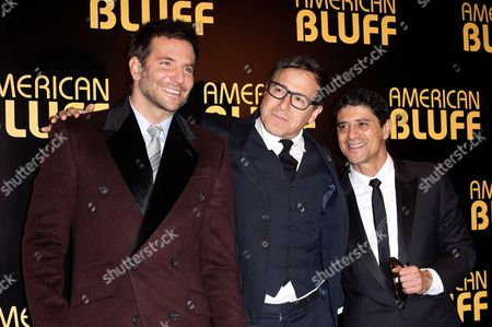 Bradley Cooper, David O Russell and Said Taghmaoui