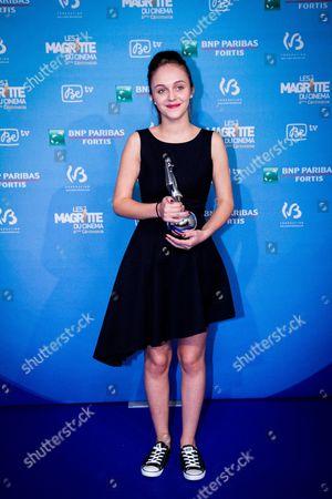 Pauline Burlet won best female debut