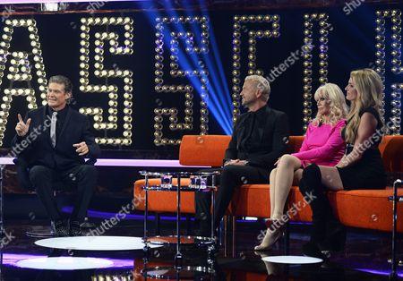 Editorial picture of 'Hasselhoff - a Swedish Talkshow' TV Programme, Stockholm, Sweden - 18 Jan 2014