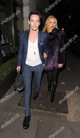 Jonathan Rhys Meyers and Marinika Smirnova