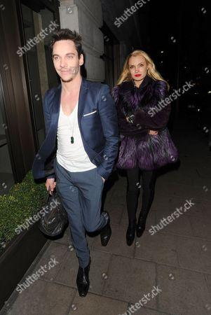 Stock Photo of Jonathan Rhys Meyers and Marinika Smirnova