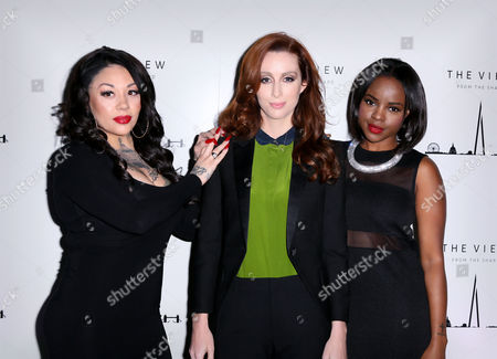 Mutya Buena, Siobhan Donaghy and Keisha Buchanan of MKS