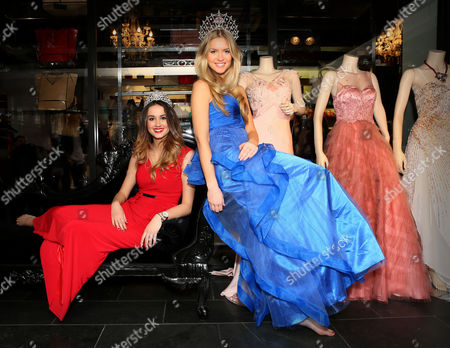 Miss Staffordshire, Jessica Landells and Miss England, Kirsty Heslewood