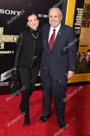 Judith Nathan Giuliani and Rudy Giuliani