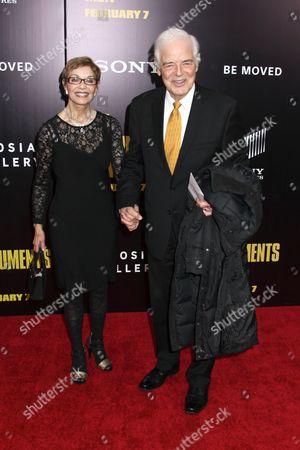 Nina Warren and Nick Clooney