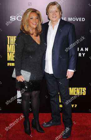 Stock Photo of Denise Rich and Niels Lauersen