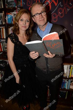 Allie Byrne Esiri and Harry Enfield