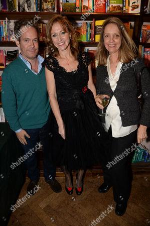 Tom Hollander, Allie Byrne Esiri and Sabrina Guinness