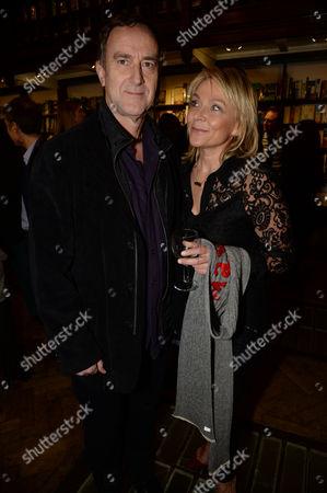 Angus Deyton and Helen Fielding