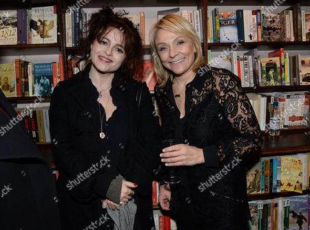 Helena Bonham Carter and Helen Fielding