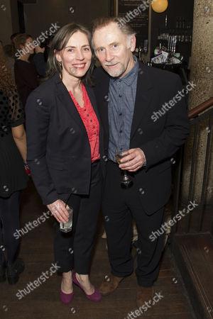 Saskia Reeves (She) and Danny Webb (He)