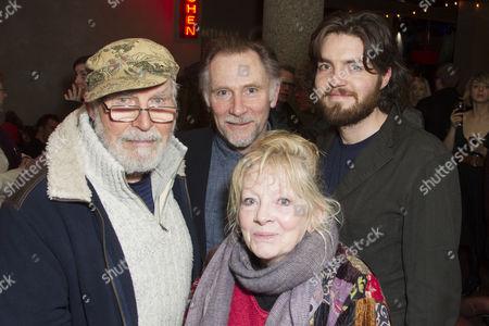 David Burke, Danny Webb (He), Anna Calder-Marshall and Tom Burke