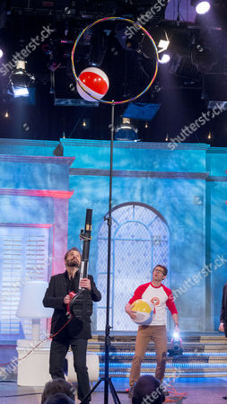 Stock Image of Alfie Boe and Stefan Gates