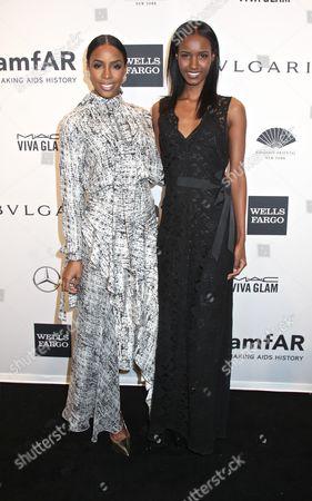 Kelly Rowland and Fatima Siad