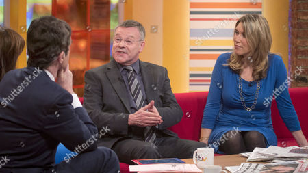 Stock Picture of John Stapleton and Lorraine Kelly with Nigel Nelson and Joanna Yarrow