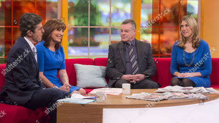 John Stapleton and Lorraine Kelly with Nigel Nelson and Joanna Yarrow