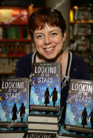 Editorial picture of Jo Cotterill 'Looking at the stars' book promotion, Oxford, Britain - 05 Feb 2014
