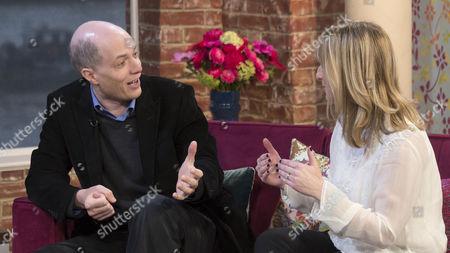 Alain de Botton and Alison Phillips