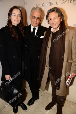 Editorial picture of 'The Italian' book launch and Anh Duong exhibition launch at Robilant Voena Gallery, London, Britain - 06 Feb 2014