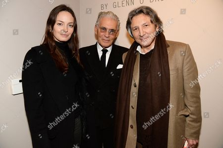 Editorial image of 'The Italian' book launch and Anh Duong exhibition launch at Robilant Voena Gallery, London, Britain - 06 Feb 2014