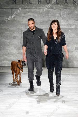 Editorial picture of Nicholas K show, Fall 2014 Mercedes-Benz Fashion Week, New York, America - 06 Feb 2014