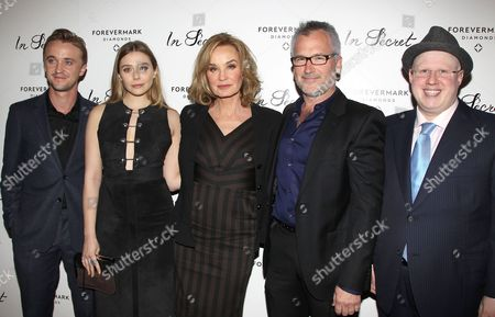 Stock Picture of Tom Felton, Elizabeth Olsen, Jessica Lange, Charlie Stratton and Matt Lucas