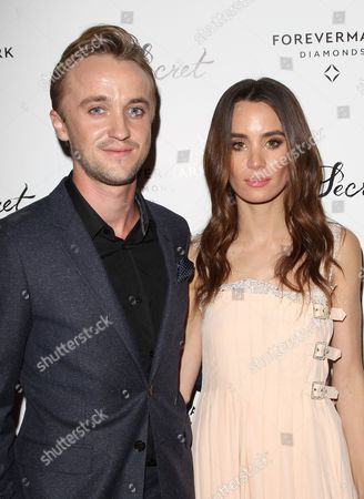 Stock Picture of Tom Felton and Jade Gordon