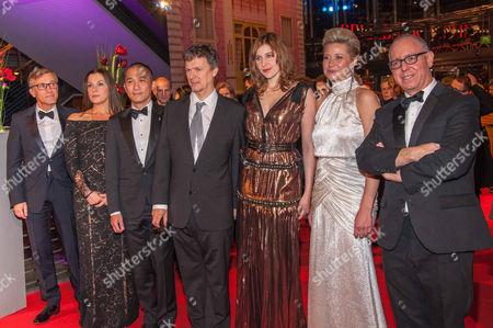 Stock Photo of Christoph Waltz, Barbara Broccoli, Tony Leung Chiu-wai Chiu-wai, Michel Gondry, Greta Gerwig, Trine Dyrholm, James Schamus