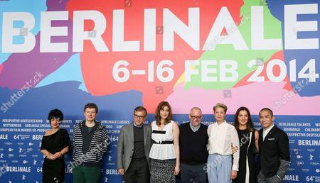 Editorial image of Jury press conference, 64th Berlinale International Film Festival, Berlin, Germany - 06 Feb 2014