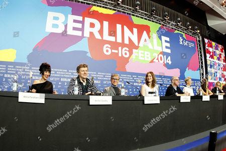 Mitra Farahani, Michel Gondry, Christoph Waltz, Greta Gerwig, James Schamus, Trine Dyrholm, Barbara Broccoli, Tony Leung Chiu-wai
