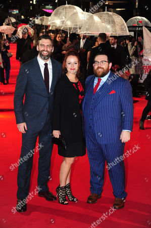 James Griffiths, guest and Nick Frost